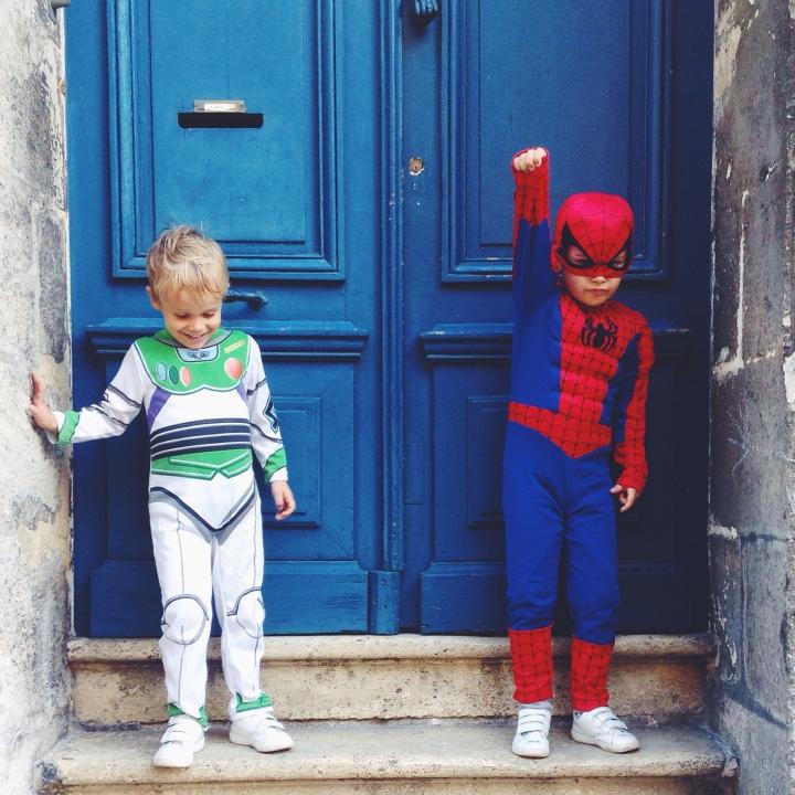 Les supers héros sont de sortie