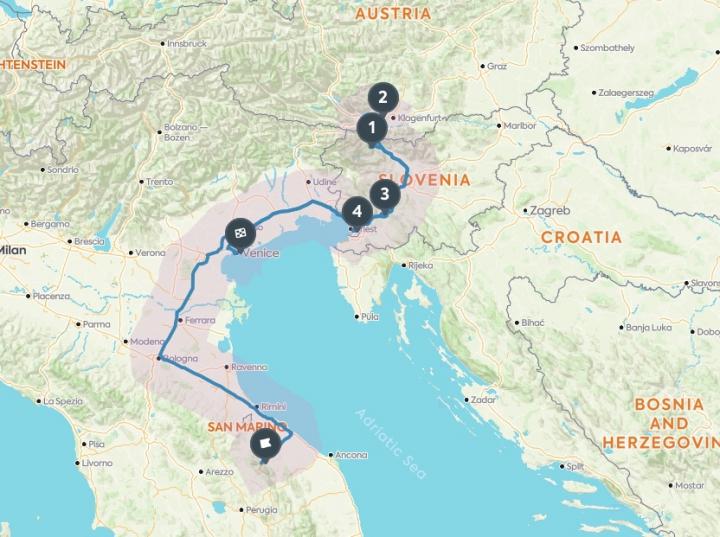 Notre road trip en Italie / Autriche et Slovénie